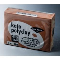 Kato Polyclay 56γρ. Καφέ